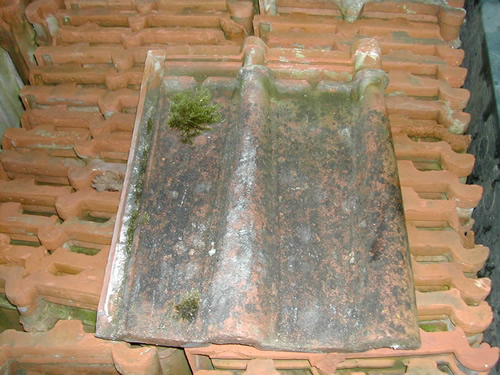 bensreckyard ebay photo Clay john major double roman roof tile 16