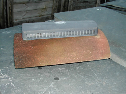 bensreckyard ebay photo Concrete vented ridge tile 3