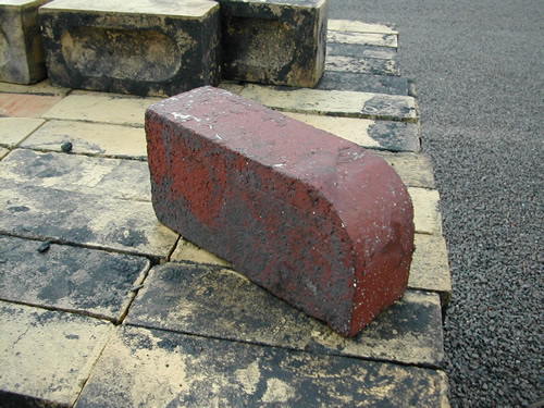 bensreckyard ebay photo Red single bull nosed bricks 8