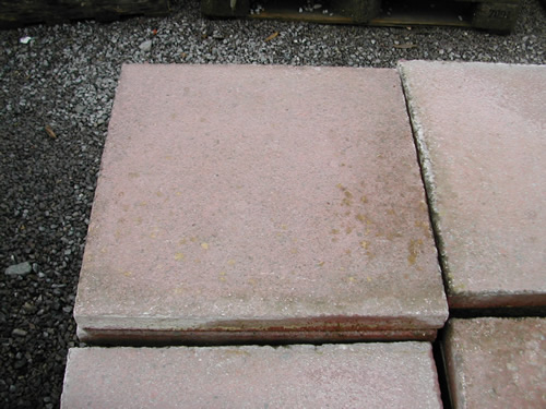 bensreckyard ebay photo Concrete slabs 18 x 18 inch Red 3