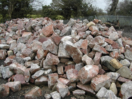 bensreckyard ebay photo Red and Grey limestone 2