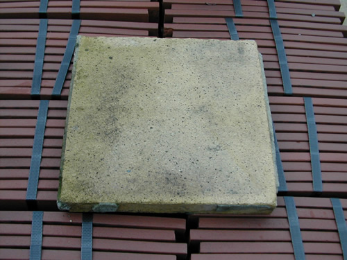 bensreckyard ebay photo Clay quarry tile 9x9 inch in yellow 2