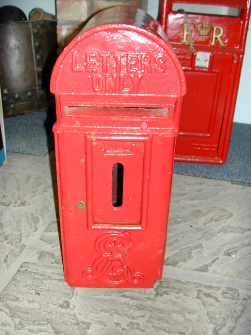 bensreckyard ebay photo Reproduction cast iron post box 7