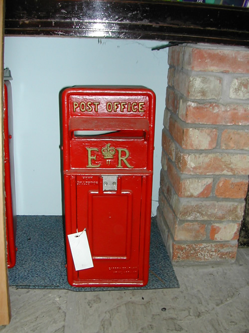 bensreckyard ebay photo reproduction Post box 001 2