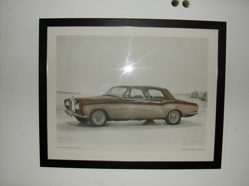 bensreckyard ebay photo Rolls-Royce framed picture 1 4