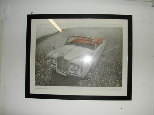 bensreckyard ebay photo Rolls-Royce framed picture 2 5