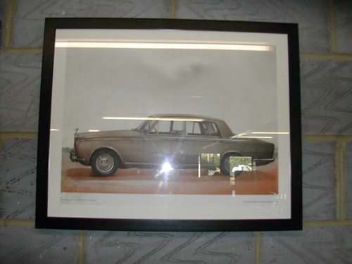 bensreckyard ebay photo Rolls-Royce framed picture 3 6