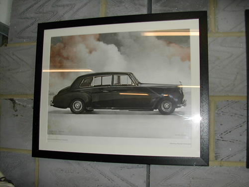bensreckyard ebay photo Rolls-Royce framed picture 4 7