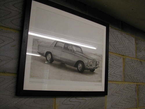 bensreckyard ebay photo Rolls-Royce framed picture 5 8