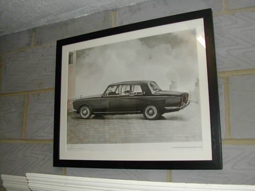bensreckyard ebay photo Rolls-Royce framed picture 6 9