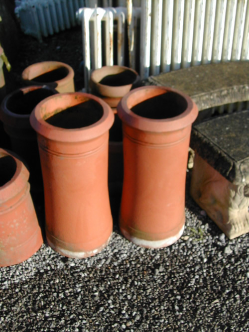 St Marys Project 18   Chimney Pots and cowls on All Souls