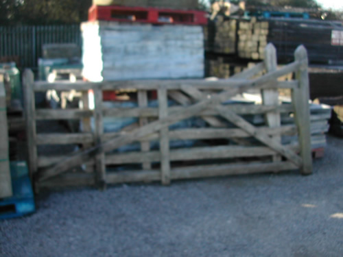 bensreckyard ebay photo Wooden 5 bar gate 12