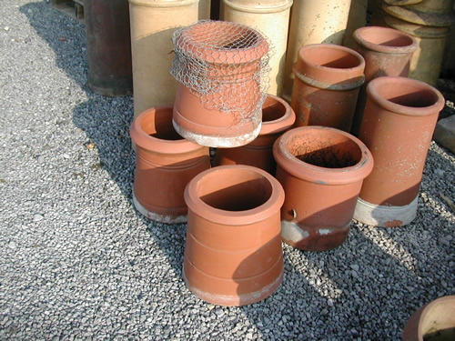 bensreckyard ebay photo Small red chimney pots 2