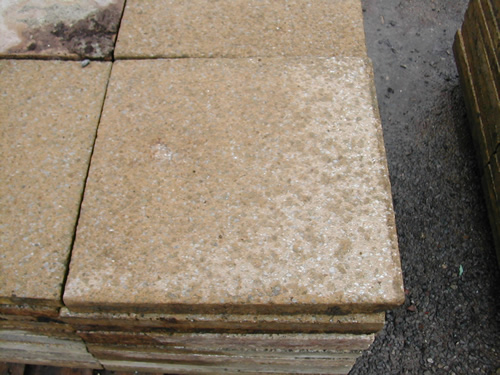 bensreckyard ebay photo Concrete paving slabs yellow 18 x 18 inch 7