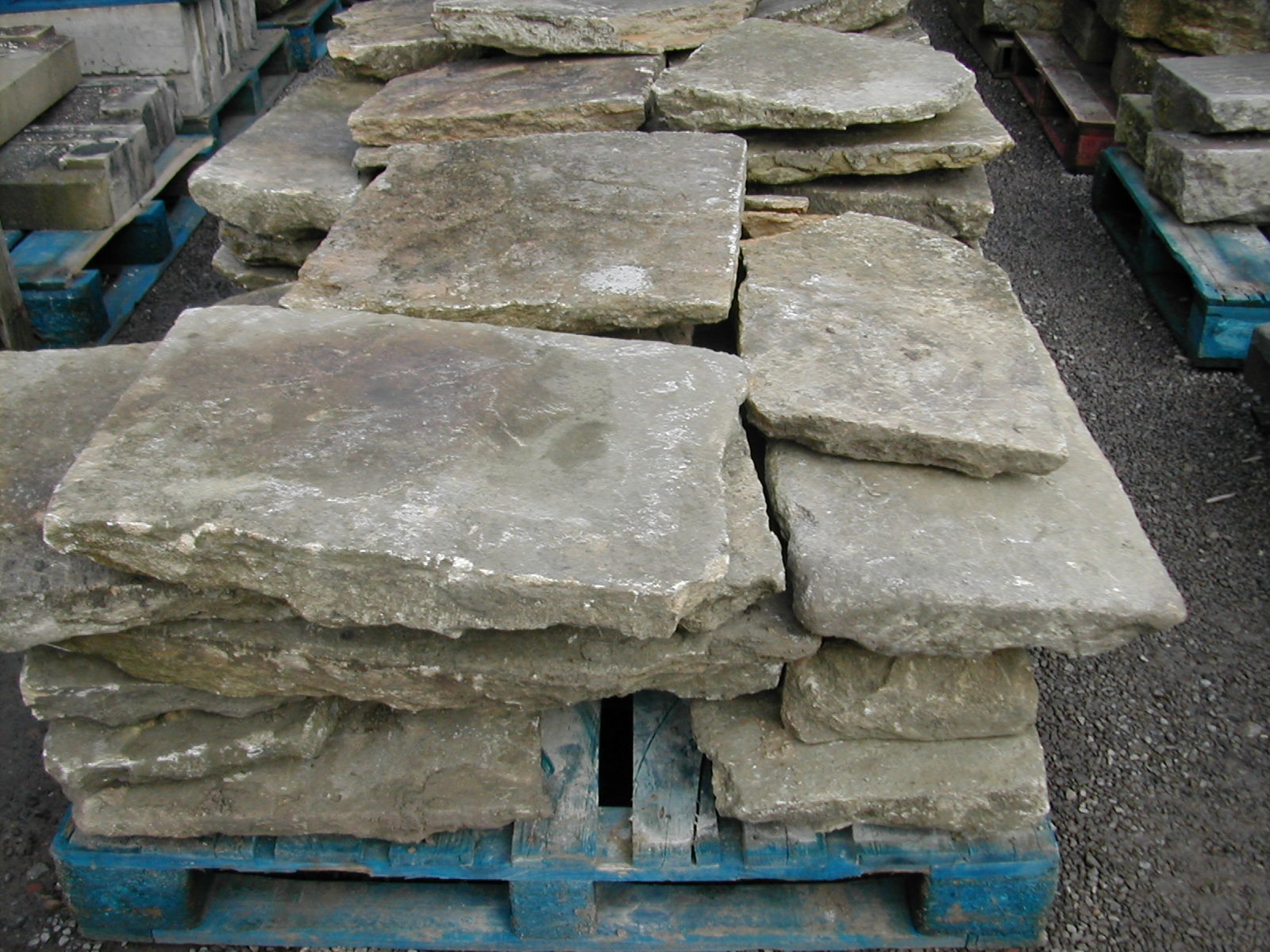 bensreckyard photo Cotswold flagstone