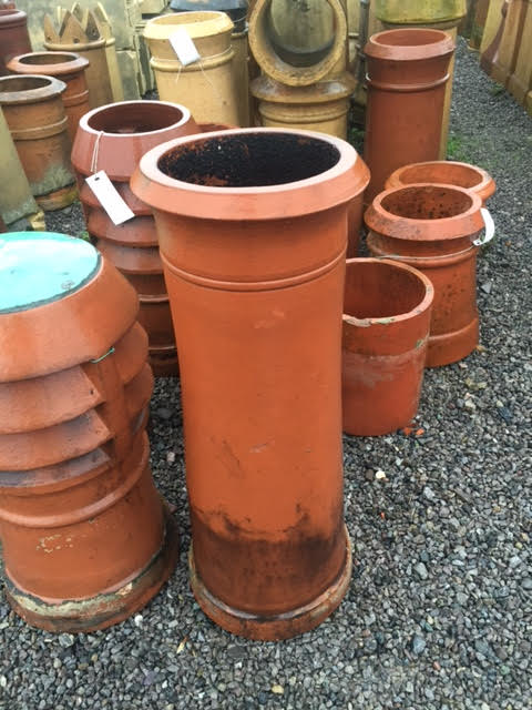bensreckyard ebay photo Red chimney pot 2