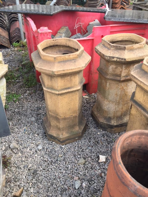 bensreckyard ebay photo Very unusual buff chimney pots 3