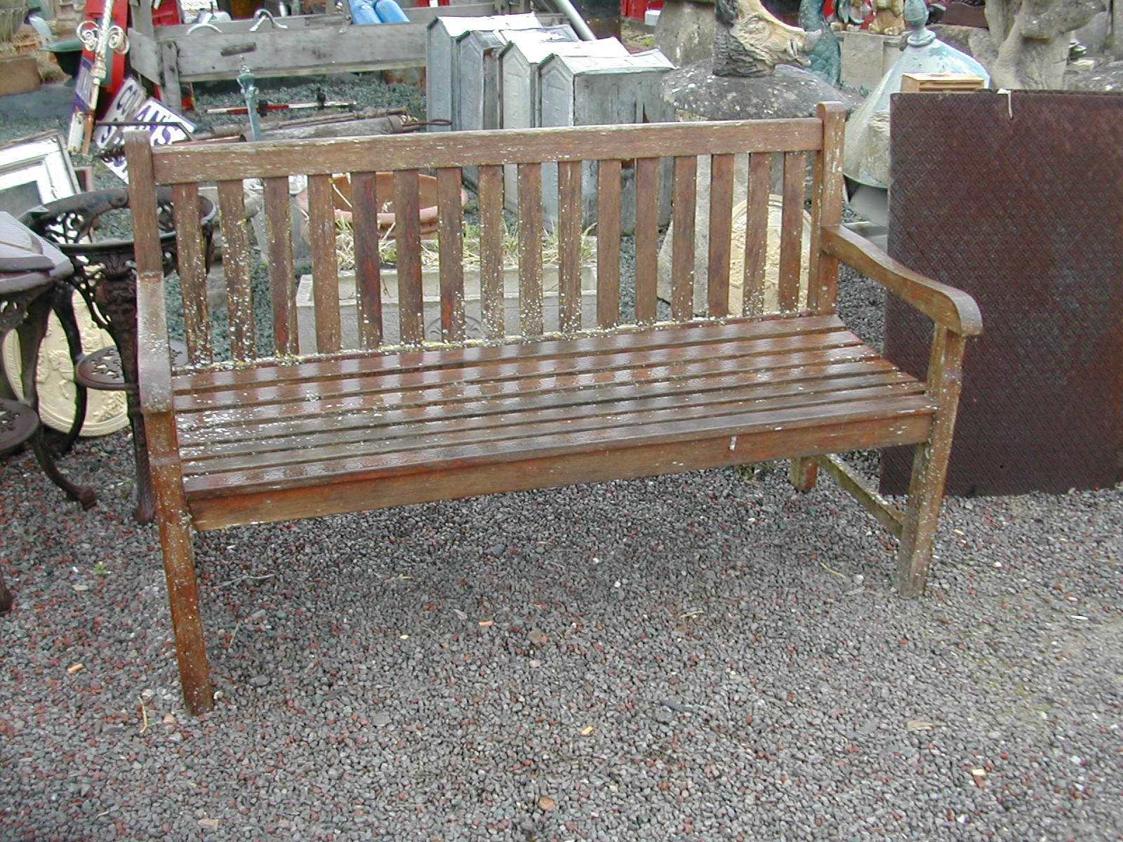 Wondrous Nice Old Wooden Garden Bench Caraccident5 Cool Chair Designs And Ideas Caraccident5Info