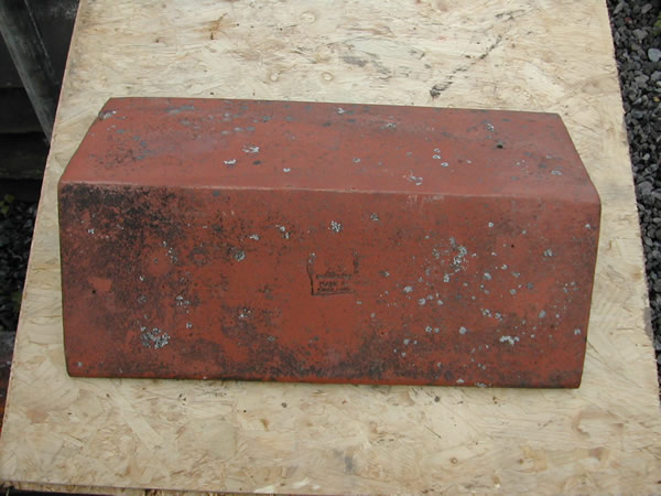 bensreckyard ebay photo Clay ridge tile 18 inch long in red 14