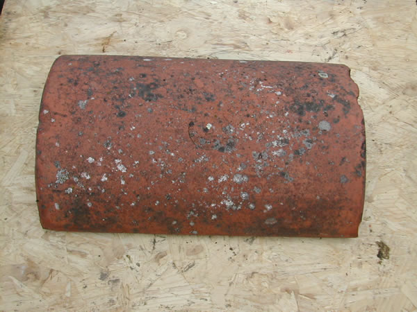 bensreckyard ebay photo Clay ridge tile 18 inch long half round 22