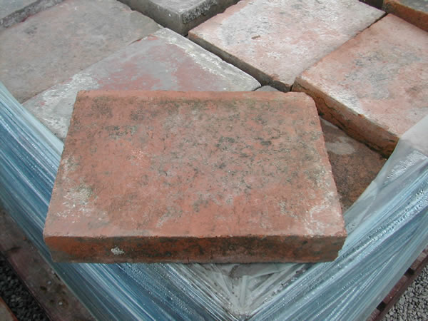 bensreckyard ebay photo Clay quarry tile 12 x 9 inch red 1